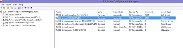 SQL Config